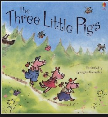 Book Review The Three Little Pigs by Susanna Davidson Georgien
