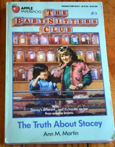 The Truth About Stacey (Baby-Sitters Club), Ann M. Martin